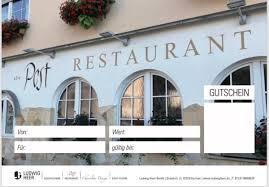 restaurant alte post ludwig heer