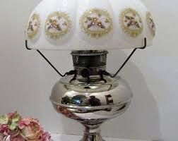 Rayo Oil Lamp Shades by Aladdin Oil Lamp Etsy
