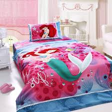 little mermaid bed set girly mermaid bedding sets all modern