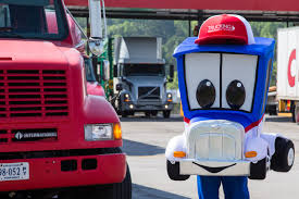 100 Mbi Trucking HOME Mascot Moves America