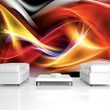 vlies fototapete 3d abstrakt bunt kunst wohnzimmer