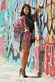 Accessories Looks Of The Week Fashion Blogger Street Style Summer Outerwear Color Fringe