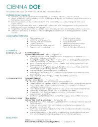 Dental Receptionist Resume Objective