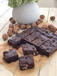 walnuss brownies low carb zuckerfrei
