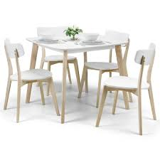 Dining Set - Casa Dining Table And 4 Chairs In White, Oak CAS901 White Fniture Co Mid Century Modern Walnut Cane Ding Chairs Bross White Fabric Chair Resale Fniture Of America Livada I Cm3170whsc2pk Coastal Set 2 Leatherette Counter Height Corliving Hillsdale Bayberry Of 5791 802 4 Novo Shop Tyler Rustic Antique By Foa On 4681012 Pieces Leather In Black Brown Sydnea Acrylic Wood Finished Amazoncom Urbanmod