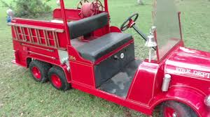 Mini Firetruck - YouTube