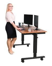 Office Max Stand Up Computer Desk by 60