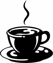 Coffee Clipart Black And White 4