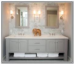 grey bathroom vanity homefield