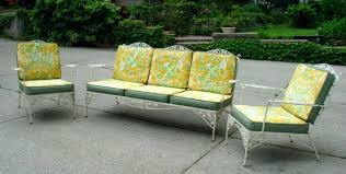 Woodard Patio Furniture Furniture Old Style Floral Outdoor Patio