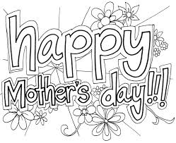 Mothers Day Coloring Pages For Girls