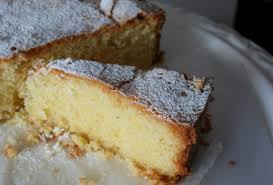 Cake Bake White Wine Olive Oil And Polenta