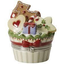 Spode Christmas Tree Village Cookie Jar by Villeroy And Boch Christmas Bakery Villeroy And Boch Christmas