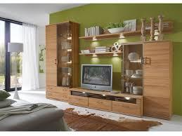 ideal möbel wohnkombination 5 teilig mit beleuchtung