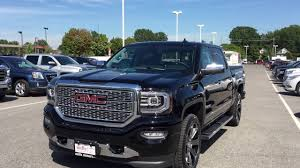 Demo 2017 GMC Sierra 1500 4WD Crew Cab Denali Black Oshawa ON Stock ... New 2019 Gmc Sierra 1500 Denali 4d Crew Cab In Delaware T19139 Luxury Vehicles Trucks And Suvs 2018 4x4 Truck For Sale In Pauls Valley Ok Pictures 2016 The Light Duty Heavy Pickup For Sale San Antonio Delray Beach First Drive Wheelsca Raises The Bar Premium Preowned 2017 Louisville 2500hd Diesel 7 Things To Know Gms New Trucks Are Trickling Consumers Selling Fast