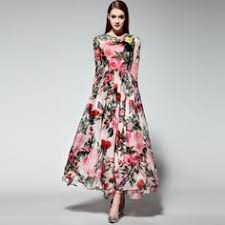 Chic Cool Summer Long Floral Dresses With Sleeves Ideas