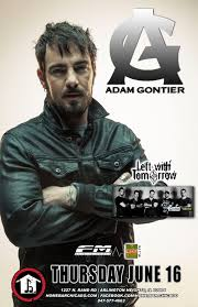 Adam Gontier Formerly of Three Days Grace Currently of Saint