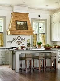 Hood Wood Kitchen Bright Country Style Painting