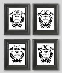 Spectacular Black And White Bathroom Art F29X On Stylish Furniture Decoration Room With