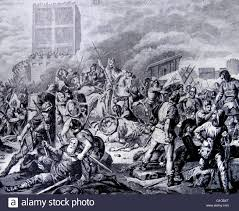 the great siege engraving depicting a from the great siege of by the