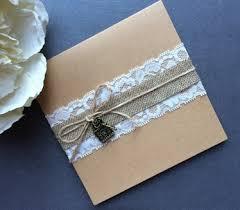 Outside Of The Beautiful Handmade Pocketfold Wedding Invitation Vintage Lace Range Using Double Sided Pearlised