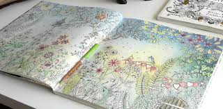 Colouring Secret Garden The Morning Part 5