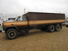 1980 C-70 Chevrolet Tandem Grain Truck - Dickinson Truck Equipment