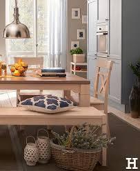ein gemütlicher essplatz im landhausstil küche