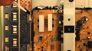how to repair 40 sony lcd tv with 4 blinks youtube