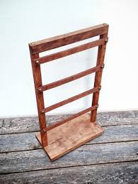Wooden Display Stand Jewelry Earring Organizer Retail Shop Store Products