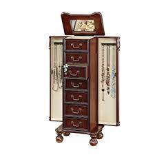 Korina Jewelry Armoire... By Home Depot | Havenly Best 25 Jewelry Armoire Ideas On Pinterest Cabinet Brown Wood Armoire Stealasofa Fniture Outlet Los 100 Home Decators 9 Standing Wall Jewelry Abolishrmcom Mirror Wall Mount Images Decoration Ideas Collection Black 565210 The Box Kohls With White Diy Lotus In Tanbrown Armoire96890200 Table Surprising Oxford My Socalled Diy Blog