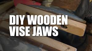 modify your bench vise for woodworking youtube