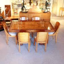 Dining Table Art Deco Tables Wood The Premier Antiques Room Modern