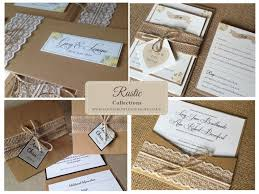 Bespoke Wedding Stationery Save The Date Invitations