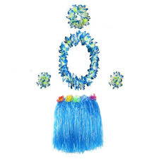 US 785 51 OFF1 Pc Hula Artificial Flowers Green Grass Ti Leaf Leaf Skirt Costume For Beach Luau Partyin Artificial Plants From Home Garden On