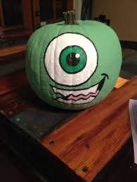 Mike Wazowski Pumpkin Carving Patterns by Mike Wazowski Pumpkin Monsters Inc By Audrey Honeycutt