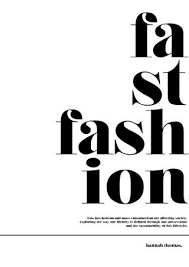 Fast Fashion Dissertation By HANNAH THOMAS
