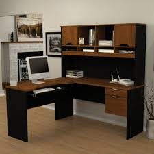 Cheap L Shaped Desk With Hutch by Desks Altra Dakota L Shaped Desk With Bookshelves Instructions