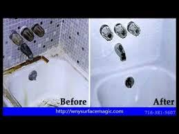 bathtub resurfacing buffalo ny 716 381 5607 youtube