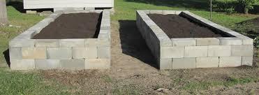 Incredible Inspiration Concrete Block Raised Garden Bed Design