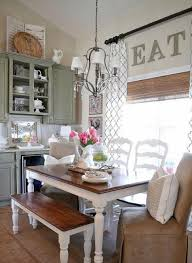 Vintage Furniture Decor Accessories And Chandelier Modern Dining Room Decorating In Style