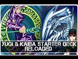 yugioh yugi starter deck kaiba starter deck reloaded youtube