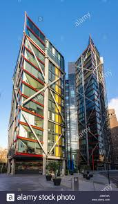 100 Neo Bank Side Side By Richard Rodgers Southwark London UK Stock Photo