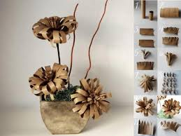 DIY Toilet Paper Roll Flower1