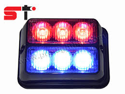 using led warning lights and sirens and or horns