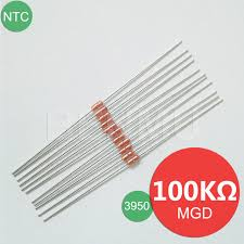 MGD18 100K 1 3950 UL Diode NTC Variable Thermal Resistor Thermistor Of Temperature Measurement Controller