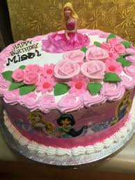 Disney Princess Birthday Cake – Wild Berries Bakery and Cafe