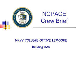 Ncpace crew brief 2010