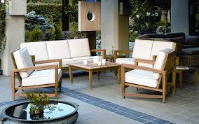 Nice White Teak Furniture Wooden Outdoor Table
