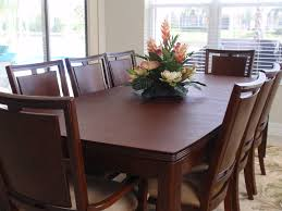 custom table pads for dining room tables prepossessing home ideas